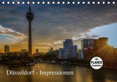Düsseldorf - Impressionen (Tischkalender 2018 DIN A5 quer) Dieser erfolgreiche Kalender wurde dieses Jahr mit gleichen Bildern und aktualisiertem Kalendarium wiederveröffentlicht.