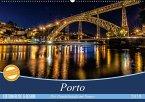 Porto - Die Handelsstadt am Douro (Wandkalender 2018 DIN A2 quer) Dieser erfolgreiche Kalender wurde dieses Jahr mit gleichen Bildern und aktualisiertem Kalendarium wiederveröffentlicht.