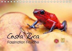 Costa Rica - Faszination Frösche (Tischkalender 2018 DIN A5 quer) Dieser erfolgreiche Kalender wurde dieses Jahr mit gleichen Bildern und aktualisiertem Kalendarium wiederveröffentlicht.
