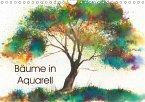 Bäume in Aquarell (Wandkalender 2018 DIN A4 quer) Dieser erfolgreiche Kalender wurde dieses Jahr mit gleichen Bildern und aktualisiertem Kalendarium wiederveröffentlicht.