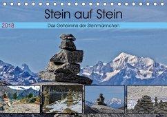 Stein auf Stein. Das Geheimnis der Steinmännchen (Tischkalender 2018 DIN A5 quer) Dieser erfolgreiche Kalender wurde dieses Jahr mit gleichen Bildern und aktualisiertem Kalendarium wiederveröffentlicht.