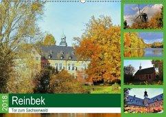 Reinbek, Tor zum Sachsenwald (Wandkalender 2018 DIN A2 quer) Dieser erfolgreiche Kalender wurde dieses Jahr mit gleichen Bildern und aktualisiertem Kalendarium wiederveröffentlicht.
