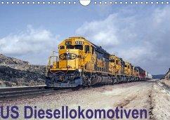 US Diesellokomotiven (Wandkalender 2018 DIN A4 quer) Dieser erfolgreiche Kalender wurde dieses Jahr mit gleichen Bildern und aktualisiertem Kalendarium wiederveröffentlicht.