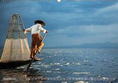 Lebensraum Inle-See in Myanmar (Wandkalender 2018 DIN A2 quer)