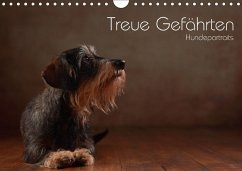 Treue Gefährten - Hundeportraits (Wandkalender 2018 DIN A4 quer) Dieser erfolgreiche Kalender wurde dieses Jahr mit gleichen Bildern und aktualisiertem Kalendarium wiederveröffentlicht.