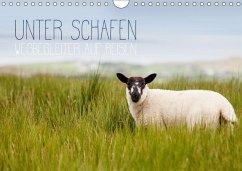 Unter Schafen - Wegbegleiter auf Reisen (Wandkalender 2018 DIN A4 quer) Dieser erfolgreiche Kalender wurde dieses Jahr mit gleichen Bildern und aktualisiertem Kalendarium wiederveröffentlicht.
