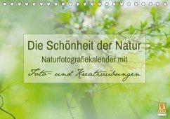 Die Schönheit der Natur - Naturfotografie-Kalender mit Foto- und Kreativübungen (Tischkalender 2018 DIN A5 quer) Dieser erfolgreiche Kalender wurde dieses Jahr mit gleichen Bildern und aktualisiertem Kalendarium wiederveröffentlicht.