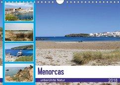 Menorcas unberührte Natur (Wandkalender 2018 DIN A4 quer) Dieser erfolgreiche Kalender wurde dieses Jahr mit gleichen Bildern und aktualisiertem Kalendarium wiederveröffentlicht.