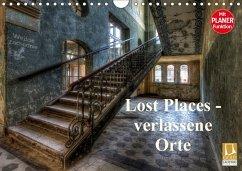 Lost Places - verlassene Orte (Wandkalender 2018 DIN A4 quer) Dieser erfolgreiche Kalender wurde dieses Jahr mit gleichen Bildern und aktualisiertem Kalendarium wiederveröffentlicht.
