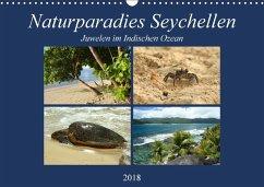 Naturparadies Seychellen - Juwelen im Indischen Ozean (Wandkalender 2018 DIN A3 quer) - Michel, Ingrid