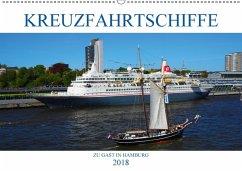 Kreuzfahrtschiffe zu Gast in Hamburg (Wandkalender 2018 DIN A2 quer) Dieser erfolgreiche Kalender wurde dieses Jahr mit gleichen Bildern und aktualisiertem Kalendarium wiederveröffentlicht.