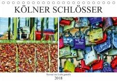 Kölner Schlösser - surreal ins Licht gestellt (Tischkalender 2018 DIN A5 quer) Dieser erfolgreiche Kalender wurde dieses Jahr mit gleichen Bildern und aktualisiertem Kalendarium wiederveröffentlicht.