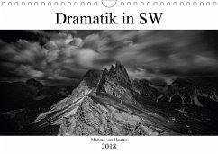 Dramatik in SW (Wandkalender 2018 DIN A4 quer) Dieser erfolgreiche Kalender wurde dieses Jahr mit gleichen Bildern und aktualisiertem Kalendarium wiederveröffentlicht.
