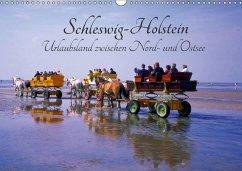 Schleswig-Holstein, Urlaubsland zwischen Nord- und Ostsee (Wandkalender 2018 DIN A3 quer) Dieser erfolgreiche Kalender wurde dieses Jahr mit gleichen Bildern und aktualisiertem Kalendarium wiederveröffentlicht.
