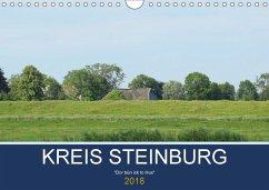 Kreis Steinburg (Wandkalender 2018 DIN A4 quer) Dieser erfolgreiche Kalender wurde dieses Jahr mit gleichen Bildern und aktualisiertem Kalendarium wiederveröffentlicht.