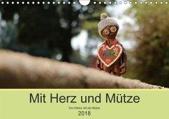 Mit Herz und Mütze (Wandkalender 2018 DIN A4 quer) Dieser erfolgreiche Kalender wurde dieses Jahr mit gleichen Bildern und aktualisiertem Kalendarium wiederveröffentlicht.