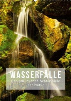Wasserfälle. Beindruckende Schauspiele der Natur (Wandkalender 2018 DIN A2 hoch) Dieser erfolgreiche Kalender wurde dieses Jahr mit gleichen Bildern und aktualisiertem Kalendarium wiederveröffentlicht.