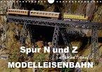 Spur N und Z international, Modelleisenbahn (Wandkalender 2018 DIN A4 quer) Dieser erfolgreiche Kalender wurde dieses Jahr mit gleichen Bildern und aktualisiertem Kalendarium wiederveröffentlicht.