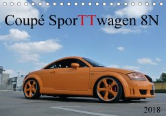 Coupé SporTTwagen 8N (Tischkalender 2018 DIN A5 quer)