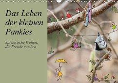 Das Leben der kleinen Pankies (Wandkalender 2018 DIN A3 quer) - Langenkamp, Heike