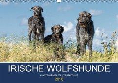 Irische Wolfshunde (Wandkalender 2018 DIN A3 quer) Dieser erfolgreiche Kalender wurde dieses Jahr mit gleichen Bildern und aktualisiertem Kalendarium wiederveröffentlicht.
