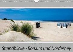 Strandblicke Borkum und Norderney (Wandkalender 2018 DIN A4 quer) Dieser erfolgreiche Kalender wurde dieses Jahr mit gleichen Bildern und aktualisiertem Kalendarium wiederveröffentlicht.