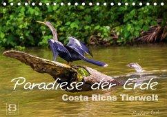 Paradiese der Erde: Costa Ricas Tierwelt (Tischkalender 2018 DIN A5 quer) Dieser erfolgreiche Kalender wurde dieses Jahr mit gleichen Bildern und aktualisiertem Kalendarium wiederveröffentlicht. - Busch, Barbara