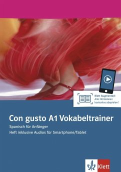 Con gusto A1. Vokabeltrainer. Heft inklusive Au...