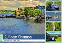 Auf dem Shannon - Mit dem Boot durch Irland (Wandkalender 2018 DIN A2 quer) Dieser erfolgreiche Kalender wurde dieses Jahr mit gleichen Bildern und aktualisiertem Kalendarium wiederveröffentlicht.