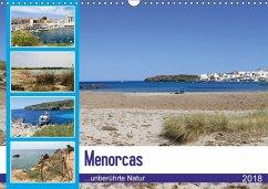 Menorcas unberührte Natur (Wandkalender 2018 DIN A3 quer) Dieser erfolgreiche Kalender wurde dieses Jahr mit gleichen Bildern und aktualisiertem Kalendarium wiederveröffentlicht.