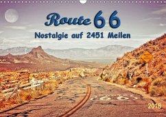 Nostalgie auf 2451 Meilen - Route 66 (Wandkalender 2018 DIN A3 quer) Dieser erfolgreiche Kalender wurde dieses Jahr mit gleichen Bildern und aktualisiertem Kalendarium wiederveröffentlicht.