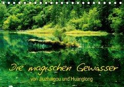 Die magischen Gewässer von Jiuzhaigou und Huanglong (Tischkalender 2018 DIN A5 quer) Dieser erfolgreiche Kalender wurde dieses Jahr mit gleichen Bildern und aktualisiertem Kalendarium wiederveröffentlicht.