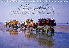 Schleswig-Holstein, Urlaubsland zwischen Nord- und Ostsee (Tischkalender 2018 DIN A5 quer) Dieser erfolgreiche Kalender wurde dieses Jahr mit gleichen Bildern und aktualisiertem Kalendarium wiederveröffentlicht.