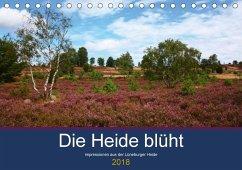 Die Heide blüht (Tischkalender 2018 DIN A5 quer) Dieser erfolgreiche Kalender wurde dieses Jahr mit gleichen Bildern und aktualisiertem Kalendarium wiederveröffentlicht.