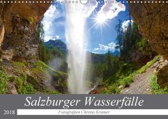Salzburger Wasserfälle (Wandkalender 2018 DIN A3 quer) Dieser erfolgreiche Kalender wurde dieses Jahr mit gleichen Bildern und aktualisiertem Kalendarium wiederveröffentlicht.