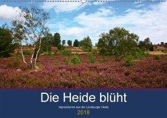 Die Heide blüht (Wandkalender 2018 DIN A2 quer) Dieser erfolgreiche Kalender wurde dieses Jahr mit gleichen Bildern und aktualisiertem Kalendarium wiederveröffentlicht.