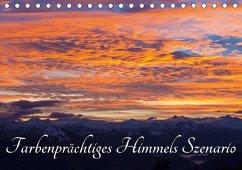 Farbenprächtiges Himmels SzenarioAT-Version (Tischkalender 2018 DIN A5 quer)