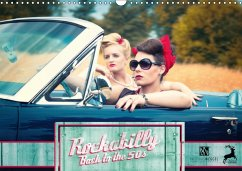 Rockabilly - Back to the 50s (Wandkalender 2018...