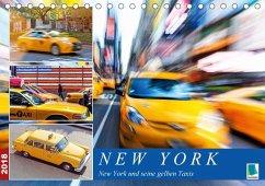 New York und seine gelben Taxis (Tischkalender 2018 DIN A5 quer) Dieser erfolgreiche Kalender wurde dieses Jahr mit gleichen Bildern und aktualisiertem Kalendarium wiederveröffentlicht.
