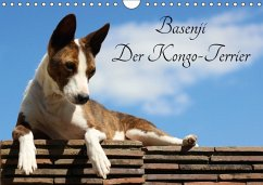 Basenji, der Kongo-Terrier (Wandkalender 2018 DIN A4 quer) Dieser erfolgreiche Kalender wurde dieses Jahr mit gleichen Bildern und aktualisiertem Kalendarium wiederveröffentlicht.