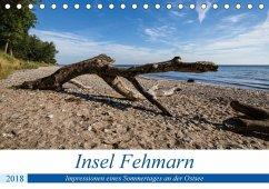 Insel Fehmarn - Impressionen eines Sommertages an der Ostsee (Tischkalender 2018 DIN A5 quer) Dieser erfolgreiche Kalender wurde dieses Jahr mit gleichen Bildern und aktualisiertem Kalendarium wiederveröffentlicht.