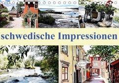 schwedische Impressionen (Tischkalender 2018 DIN A5 quer) Dieser erfolgreiche Kalender wurde dieses Jahr mit gleichen Bildern und aktualisiertem Kalendarium wiederveröffentlicht.