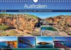 Australien - Travel The Gravel (Wandkalender 2018 DIN A4 quer) Dieser erfolgreiche Kalender wurde dieses Jahr mit gleichen Bildern und aktualisiertem Kalendarium wiederveröffentlicht.