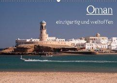 Oman - einzigartig und weltoffen (Wandkalender 2018 DIN A2 quer) Dieser erfolgreiche Kalender wurde dieses Jahr mit gleichen Bildern und aktualisiertem Kalendarium wiederveröffentlicht.