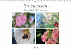 Stockrosen - Traumhafte Schönheiten (Wandkalender 2018 DIN A3 quer) Dieser erfolgreiche Kalender wurde dieses Jahr mit gleichen Bildern und aktualisiertem Kalendarium wiederveröffentlicht.