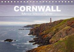 Cornwall - Äußerster Südwesten Englands (Tischkalender 2018 DIN A5 quer) Dieser erfolgreiche Kalender wurde dieses Jahr mit gleichen Bildern und aktualisiertem Kalendarium wiederveröffentlicht.