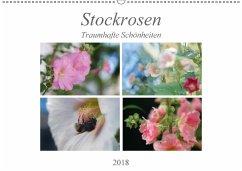 Stockrosen - Traumhafte Schönheiten (Wandkalender 2018 DIN A2 quer) Dieser erfolgreiche Kalender wurde dieses Jahr mit gleichen Bildern und aktualisiertem Kalendarium wiederveröffentlicht.