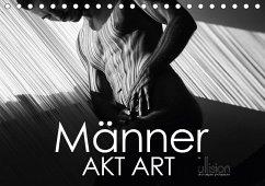 Männer AKT Art (Tischkalender 2018 DIN A5 quer)