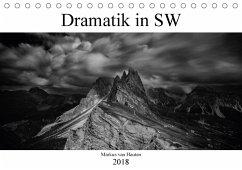 Dramatik in SW (Tischkalender 2018 DIN A5 quer) Dieser erfolgreiche Kalender wurde dieses Jahr mit gleichen Bildern und aktualisiertem Kalendarium wiederveröffentlicht.