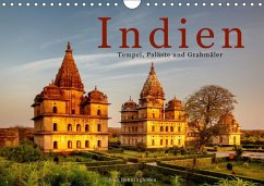 Indien: Tempel, Paläste und Grabmäler (Wandkalender 2018 DIN A4 quer)